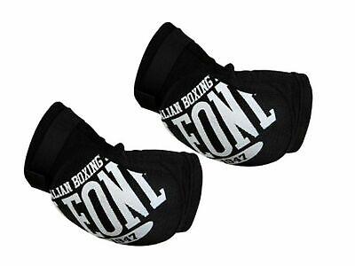 Gomitiere LEONE PR327 Paragomiti Protezioni Muay Thai MMA La coppia - NERO