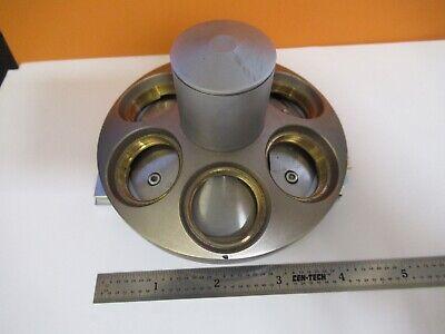 Reichert Polyvar Austria Nosepiece Microscope Part Leica As Pictured 8c-a-34
