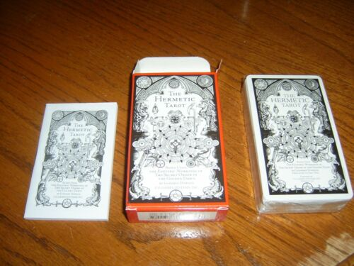 The Hermetic Tarot by Godfrey Dowson, 78 cards, 2006