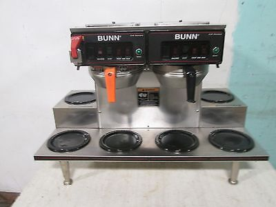 Bunn H.d. Commercial Pour-overautomatic S.s. Coffee Brewer W6 Warmers
