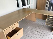 Two wooden desks FREE Bellevue Hill Eastern Suburbs Preview
