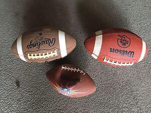 Footballs for sale