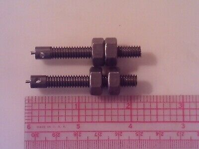 Acy Associated Engine Governor Spring Eyebolt Set Of 2 With Nuts 1.5-12 H.p.