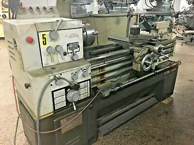 16 X 40 Victor Model 1640b Geared Head Engine Lathe With Dro