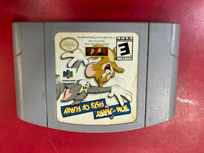 Tom and Jerry Fists Of Fury N64