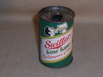 "Vintage Gag ""Swiller Low Life - The Champeen of Beers"" Bic Lighter Holder L@@K"