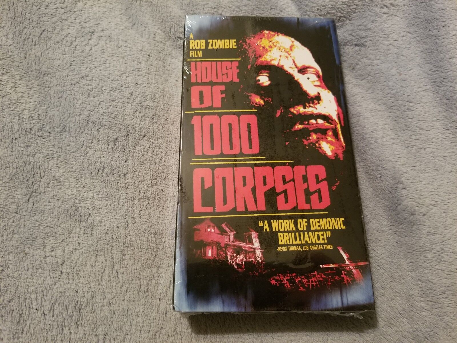 House of 1000 Corpses (2003) - VHS Tape - Horror - Rob Zombie - Sid Haig - NEW
