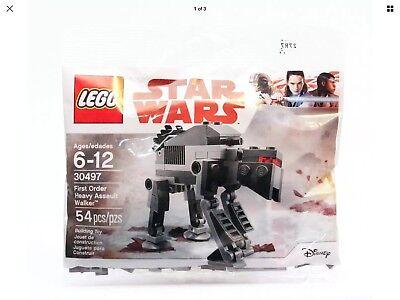 Lego Star Wars Rogue One First Order Heavy Assault Walker 30497  54 Pcs   New