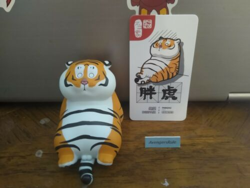 52Toys Fat Tiger Emoticons Panghu Bu2ma Mini Figure Despair