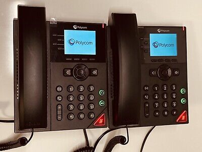 Lot Of 5 Polycom Vvx 250 2201-48820-001 Voip Business Telephone No Stands