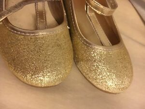 Girls Size 10 party shoes
