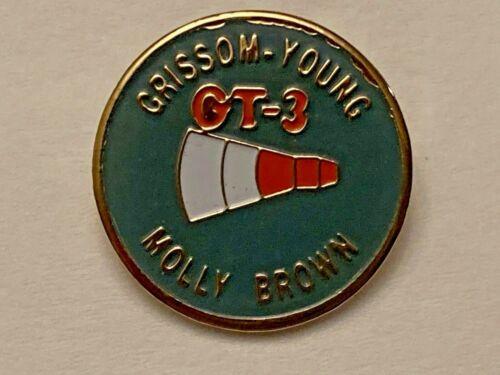 GEMINI GT-3 MOLLY BROWN CREW LAPEL PIN