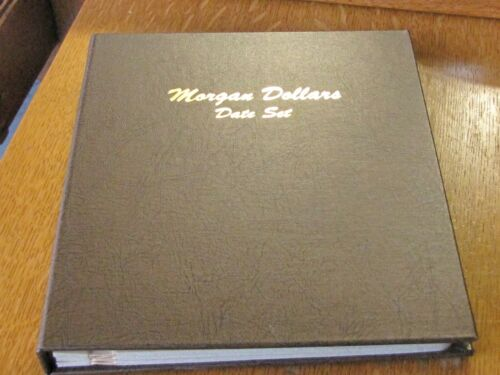Dansco COIN ALBUM  FOLDER 7171 Morgan Dollar Date Set 1878-1921