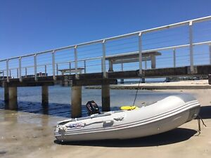 Inflatable boat / tender / RIB dinghy with 3.6hp outboard