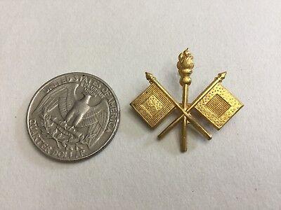 Spanish American War Era Us Army Signal Corps Pin Insignia
