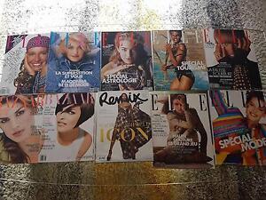 fashion magazines setcard topmodels supermodels vogue elle tatler Port Lincoln Region Preview
