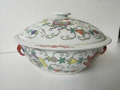 Centerpieces Ceramics Chinese Decoration Embossed 28 x 16 cm Gorgeous Hallmarked
