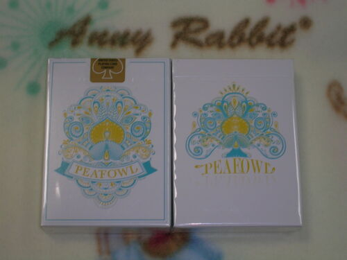 1 deck Peafowl White Deck Playing Cards Aloys Studio Rare