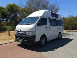 2011 Toyota Hiace Campervan HI TOP Rockingham Rockingham Area Preview