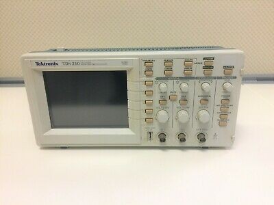 Tektronix Tds 210 60mhz 1gss Two Channel Digital Real Time Oscilloscope