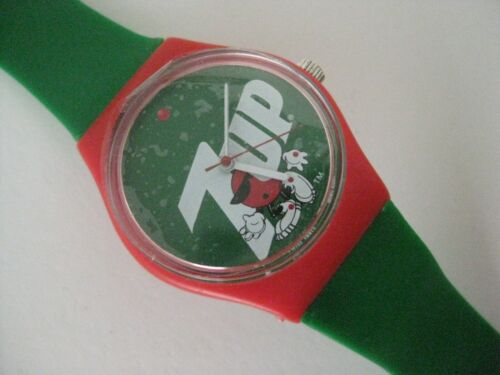 7-up Wristwatch New never used Seven up Soda Pop Watch Wind