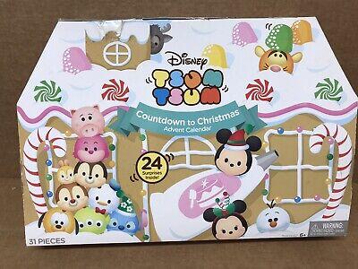 Disney Christmas Tsum Tsum Countdown To Christmas Advent Calendar New Open Box