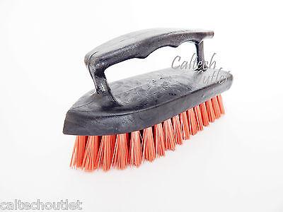 - Iron Handle Scrub Brush Scrubber All Purpose Floor Carpet Pet Cleaning