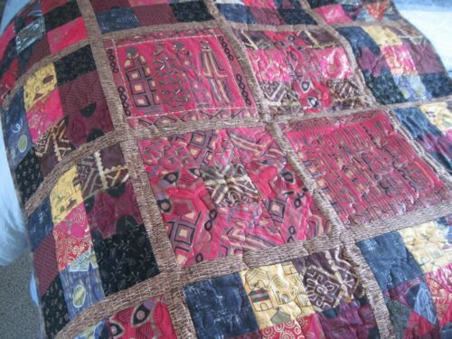 Handmade Quilt Wall Hanging African Fantasy