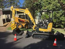 Bobcat & 3.5 ton excavator 10m Tipper Hire Yatala Gold Coast North Preview