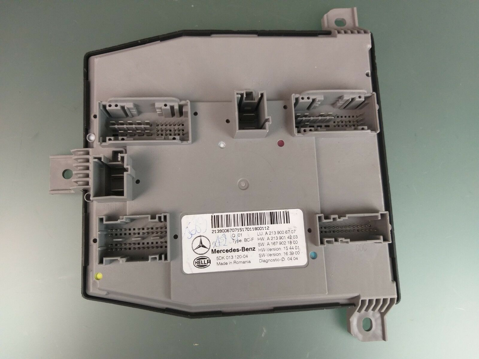 Original Mercedes W213 E Class Sam Bcm Vehicle Electrical System Control Unit