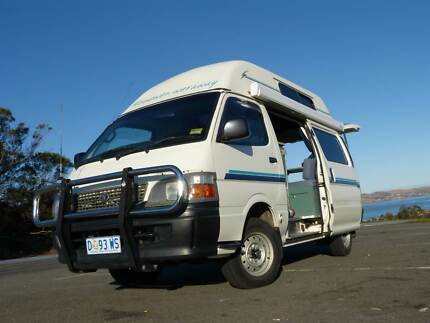 2004 TOYOTA HIACE HIGHTOP CAMPERVAN IN SPOTLESS CONDITION Bellerive Clarence Area Preview