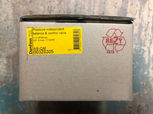 Danfoss Pressure Independent Balance & Control Valve AB-QM 003Z0305