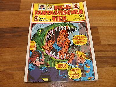 Stan Lee präsentiert: -- FANTASTISCHEN VIER Condor-Comic-Album Nr  # 4 / 1980