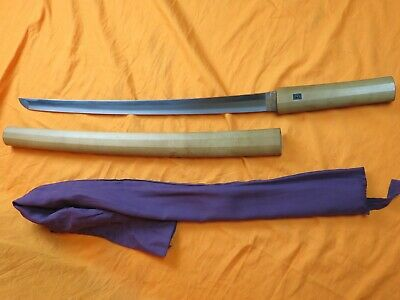 !Fine HIGH Q Waki sword Antique Samurai japanese koshirae katana menuki fuchi