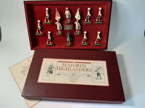 W. BRITAINS SEAFORTH HIGHLANDERS - COLLECTOR SOLDIERS