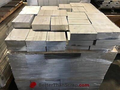 Aluminum 6061 Plate 1.5 X 4 X 5.125 Long