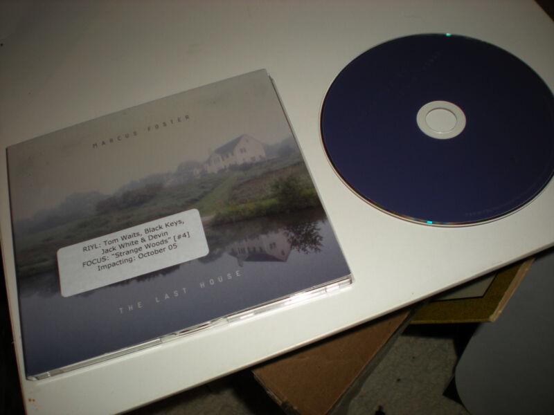 Marcus Foster The Last House CD 6 tracks  folk, world, country