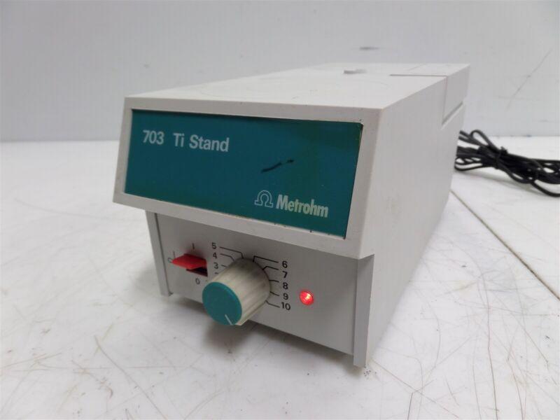 Metrohm 703 Ti Stand Titration Stand Unit