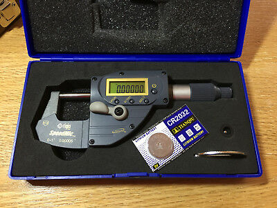 0-1 Digital Micrometer Absolute With .00005 Accuracy. Igaging Speedmic