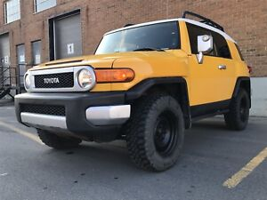 Toyota fj cruiser 2010 manual 4x4
