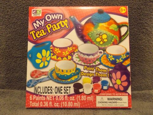 Creative Kids Crafts My Own Tea Party Free Shipping