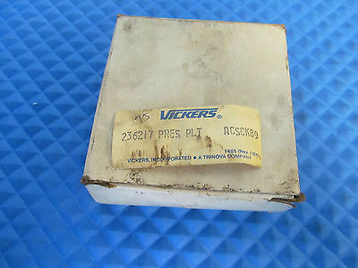 New Vickers Pressure Plate 236217 Free Shipping
