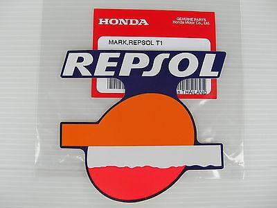 ORIGINAL Honda REPSOL  Aufkleber-Sticker- 9,2cm x 8,3cm -Logo-Emblema-Decal-L