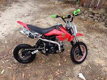 70cc dirt bike Enfield Golden Plains Preview