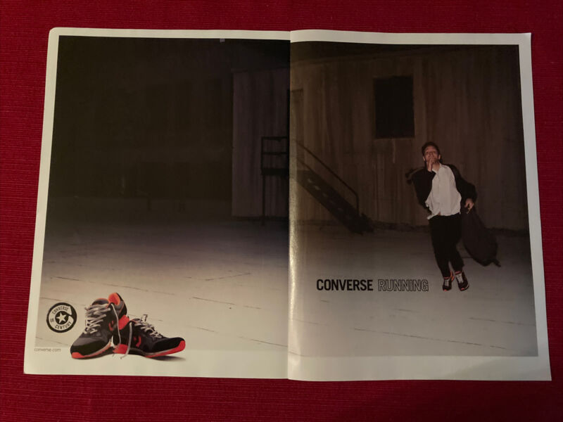 Converse Century Running Sneakers 2008 Ad/Poster Promo Art Ad