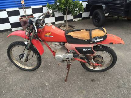 HONDA XL 100 S 1985 WRECKING OR RESTORE St Agnes Tea Tree Gully Area Preview