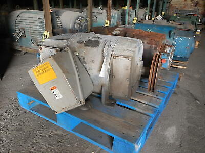 15 Hp General Electric Dc Motor 500 Rpm Fr. 366at Dpfv 500 Volt Eok