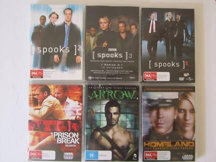 DVD Box Sets - Comedy, Sci-Fi, Thriller $4 ea