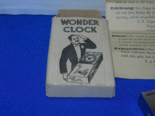 Magic Trick  - Collectible Magic Wonder Clock from Germany