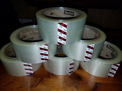 110yd Clear Tape - 3M 371 SCOTCH CLEAR PACKAGING TAPE 2